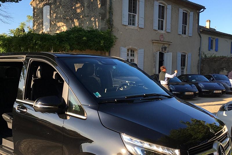 Chauffeur privé Alpilles